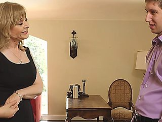 Goodlooking Older Milf Is Nervous Abaout Her First Date With A Young Guy