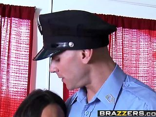 Brazzers - Teens Like It Big -  Fuck the Police scene starri
