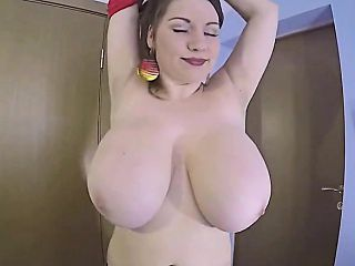 Huge Natural Tits Mom Teasing Her Only Son Ti