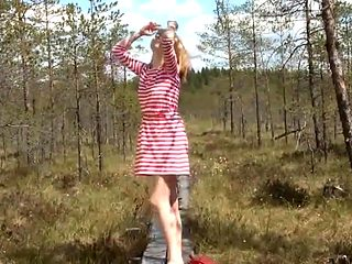 Sofie - cutie in the forest