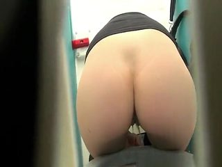 Pretty pussy peeing in toilet