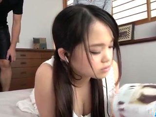 Massage leads Risa Oomomo to fuck like mad