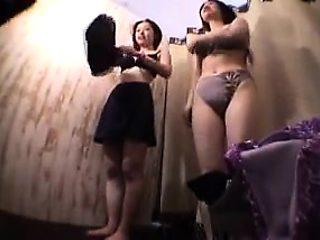 Cute shaved asian fingering on hidden cam