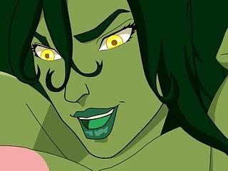 she hulk has huge floppy tits