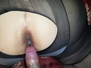 Rip a hole in my pantyhose