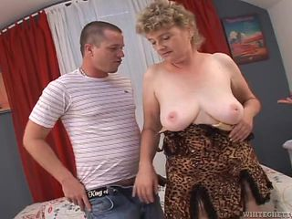grandma tastes a hard cock @ i was 18 50 years ago #04, scene #04