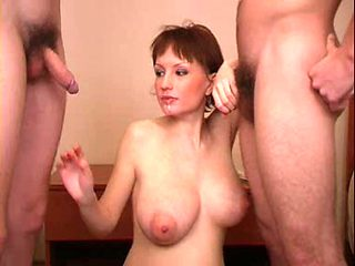 Preggy russian mother i'd like to fuck copulates two dudes RO7
