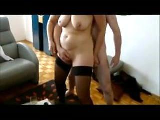 Amateur bi-sex mature cuckold couple.