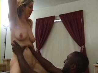 40yo housewife has multiple orgasms with youthful darksome stud