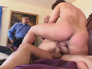 Milf Wife Gets All Holes Owned