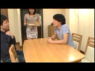 Japanese guy loves his mother friend son