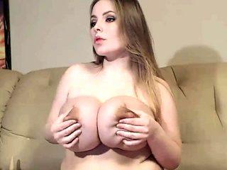 Busty secretary big boobs oral sex office