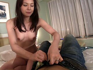 Brunette woman is happy to be seduced by a randy stallion