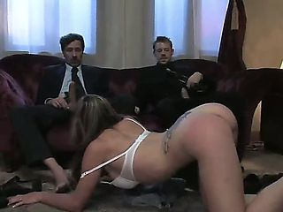 Gorgeous and busty brunette honey Felony gets kidnapped by Erik Everhard and Steve Holmes and for...