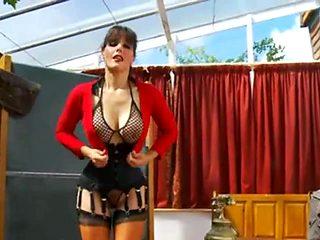 Sexy Busty Biology Teacher