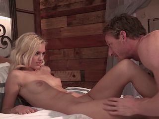 Cute blonde easily seduced and shagged in a number of ways