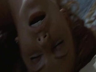 Charlize Theron nude has hot sex with a guy and having him suck on her breasts and then rolling n...