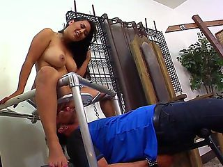 See the scene where Dominik Kross and Jessica Bangkok are spending time together. The Asian hotti...