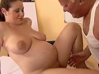 Grandpa fuck with pregnant