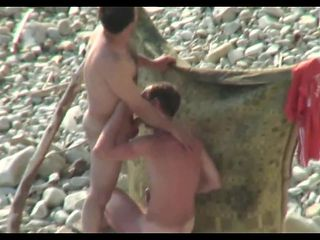 Hidden camera on the beach 8