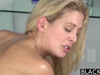 Southern Blonde Cherie Deville Takes Big Black Cock