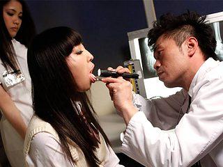 Ayu Kawashima in Nasty threesome at black magic ward - AviDolz
