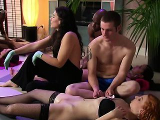 Swinger party couples going crazy and pleasuring each others