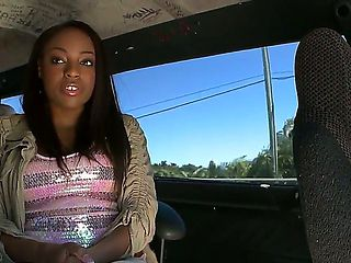 As soon as bootylicous Malina Milan steps into the Bangbus, the team is sure that the day is not ...
