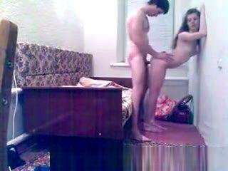 Teen couple homemade webcam fuck