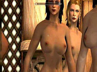 Skyrim special edition. Naked girls compilation 2