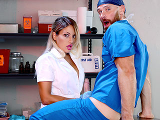 Johnny Sins & Kissa Sins in One For The Doctor - DigitalPlayground