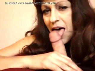horny mom seduces  son