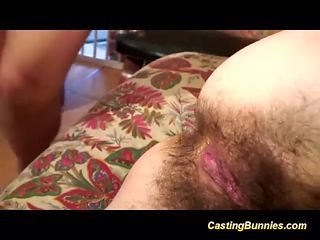 hairy anal casting chick