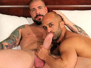 Rocco Steele and Igor Lucas - BarebackThatHole