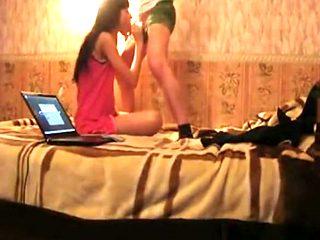 Teen couple homemade porn video