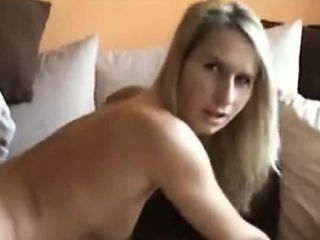 cheating housewife assfuck on couch