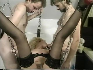 Vivian Dangles in A Swing Being Fisted
