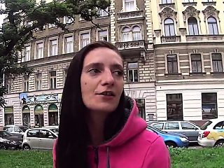 Luscious czech nympho gets seduced in the hypermarket and sc