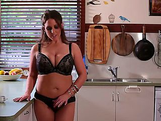 Angela White, that Australian tit phenomenon, is back  in her eighth appearance on our site. Look...