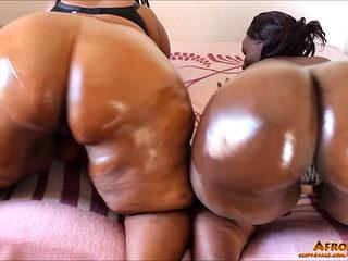 Lewd Afro-mama's