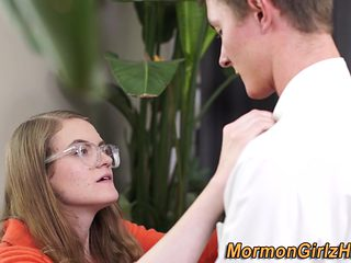 Mormon legal age teenager receives railed