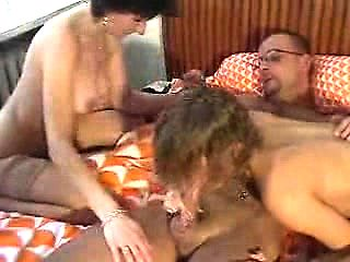 Amateur MILF Threesome At Hotel