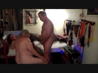 bisexual cuckold cleans up and films