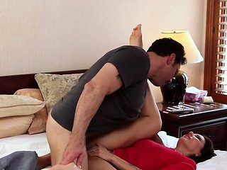 Taboo milf fucked deeply and passionately