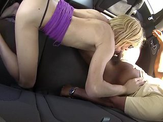 Suck and drink in the car