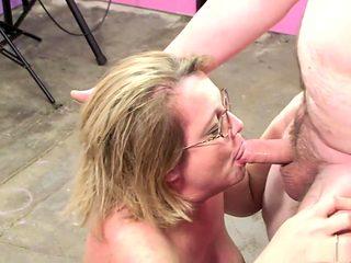 Incredible pornstar Molly Adams in crazy blonde, blowjob xxx video