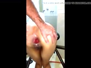 Brasileira no fisting