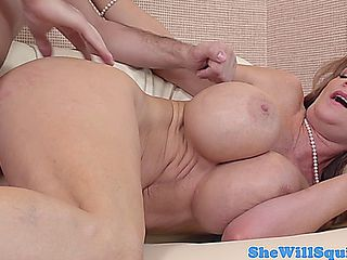 Busty Squirter Deauxma Doggystyle Banged