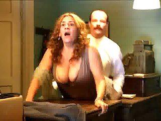 Pamela Flores - Doggystyle Big Tits Jiggle (Sex scene)