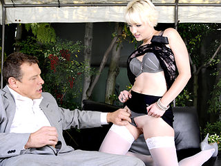 Chance Caldwell & Nora Skyy in Kinky Secretary Nora Skyy Earns Her New Job - BestGonzo